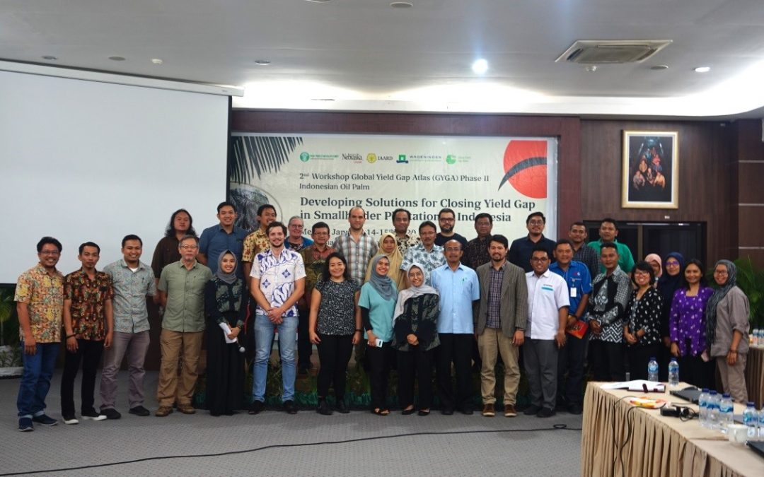 WORKSHOP GLOBAL YIELD GAP ATLAS (GYGA) : DISKUSI SOLUSI GAP PRODUKTIVITAS PADA KEBUN SAWIT RAKYAT